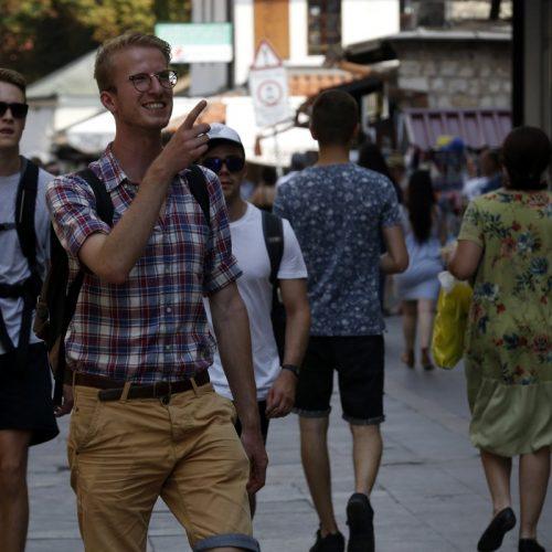 Sarajevske ulice preplavljene turistima iz cijelog svijeta
