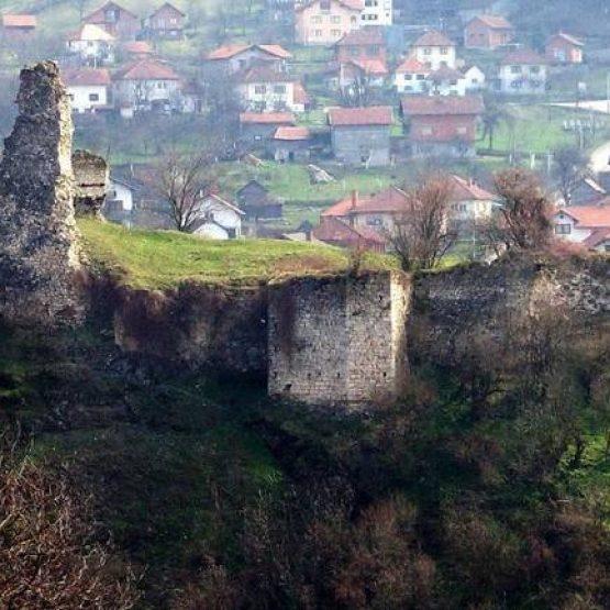 Gračanica: Srednjovjekovni grad Soko