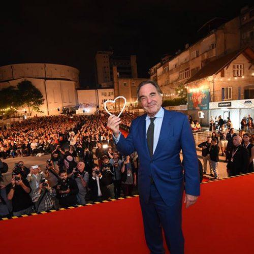 Oliver Stone: Velika mi je čast primiti nagradu, jer znam da Sarajevo ima srce (Video)
