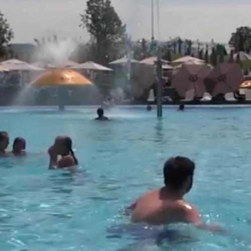 Trebinjska zabava u akva parku (VIDEO)