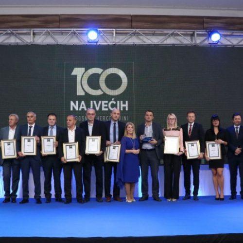 U Sarajevu dodijeljena priznanja najuspješnijim bh. kompanijama u 2016.