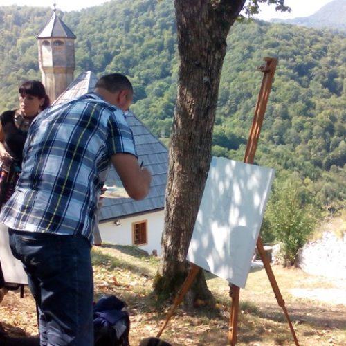 Umjetnici na Kušlatu (Foto)