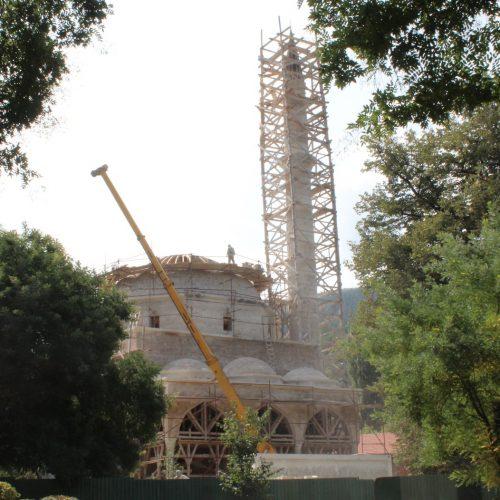 Završena munara na Aladža džamiji u Foči