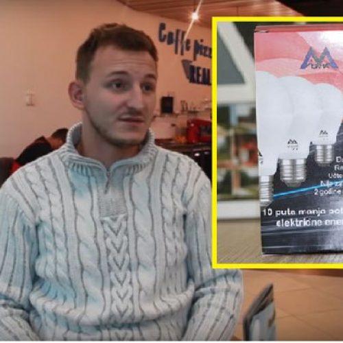 Mladi Kakanjac pokrenuo kompaniju za proizvodnju led sijalica