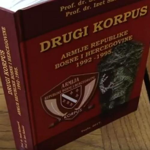 Iz štampe izašla Monografija Drugi Korpus Armije RBiH 1992 – 1995. (Video)