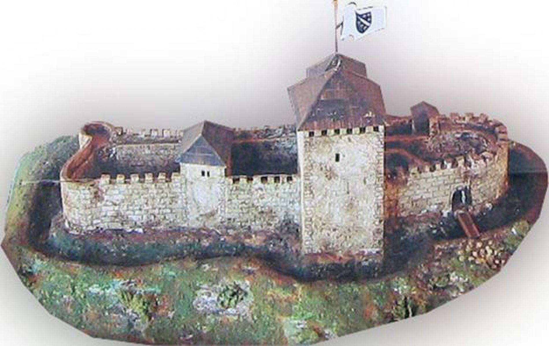 1. septembra 1355., u povelji bana Tvrtka I. Kotromanića prvo spominjanje Starog grada Visokog