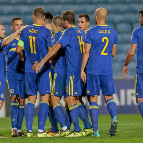 Rutinska pobjeda Bosne i Hercegovine nad Gibraltarom za drugo mjesto u grupi
