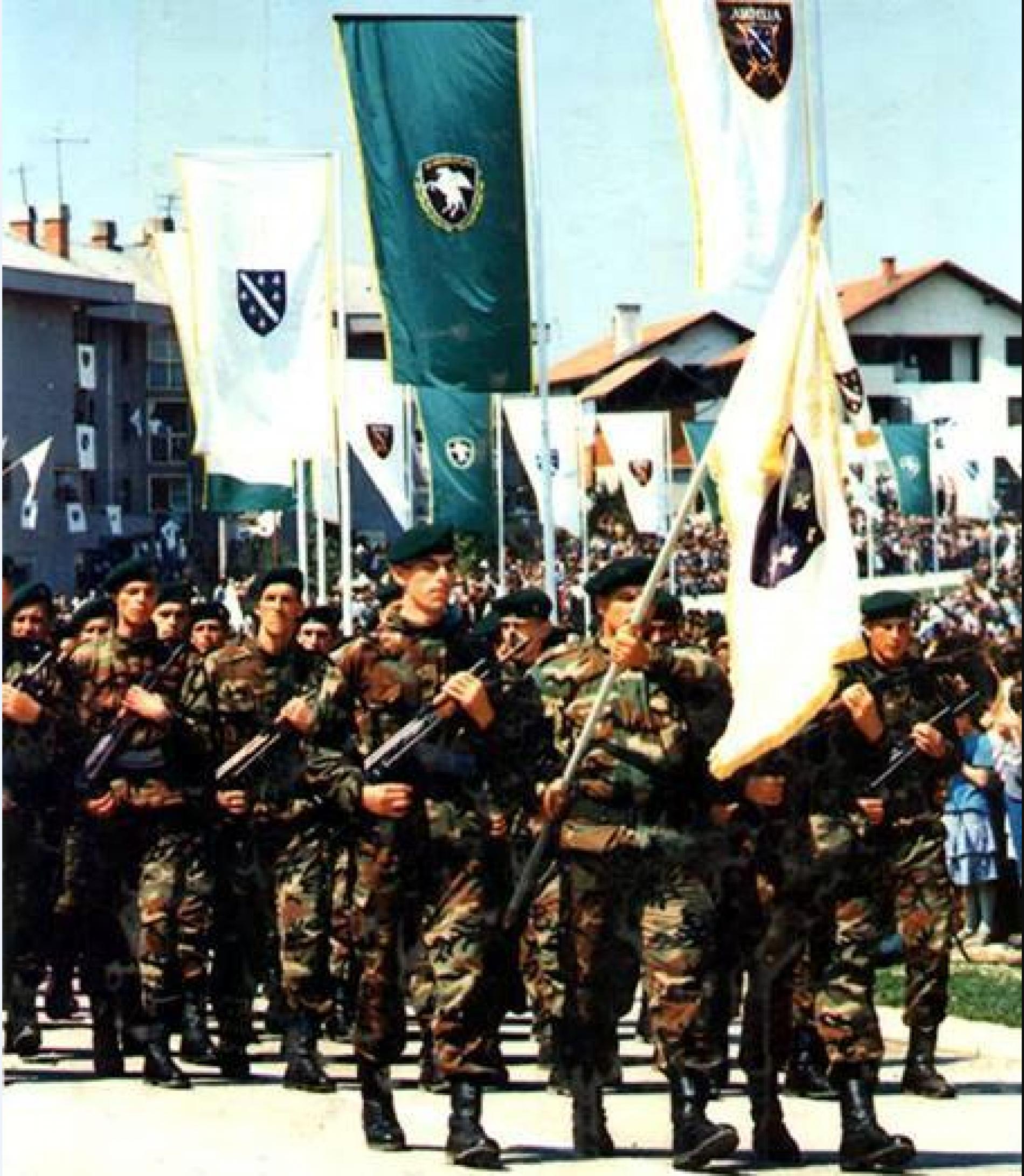 Godišnjica formiranja 5. korpusa Armije Republike Bosne i Hercegovine: Slavna historija Sile nebeske