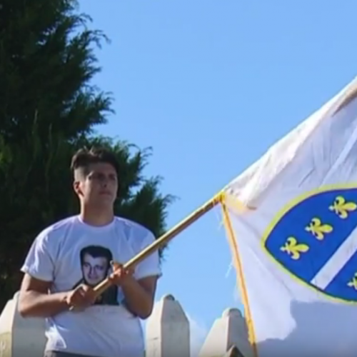 Obilježena 25. godišnjica pogibije Hajrudina Mešića-kapetana Hajre (VIDEO)