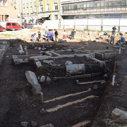 Završena posljednja faza arheološkog istraživanja u parku Kalin hadži Alijine džamije