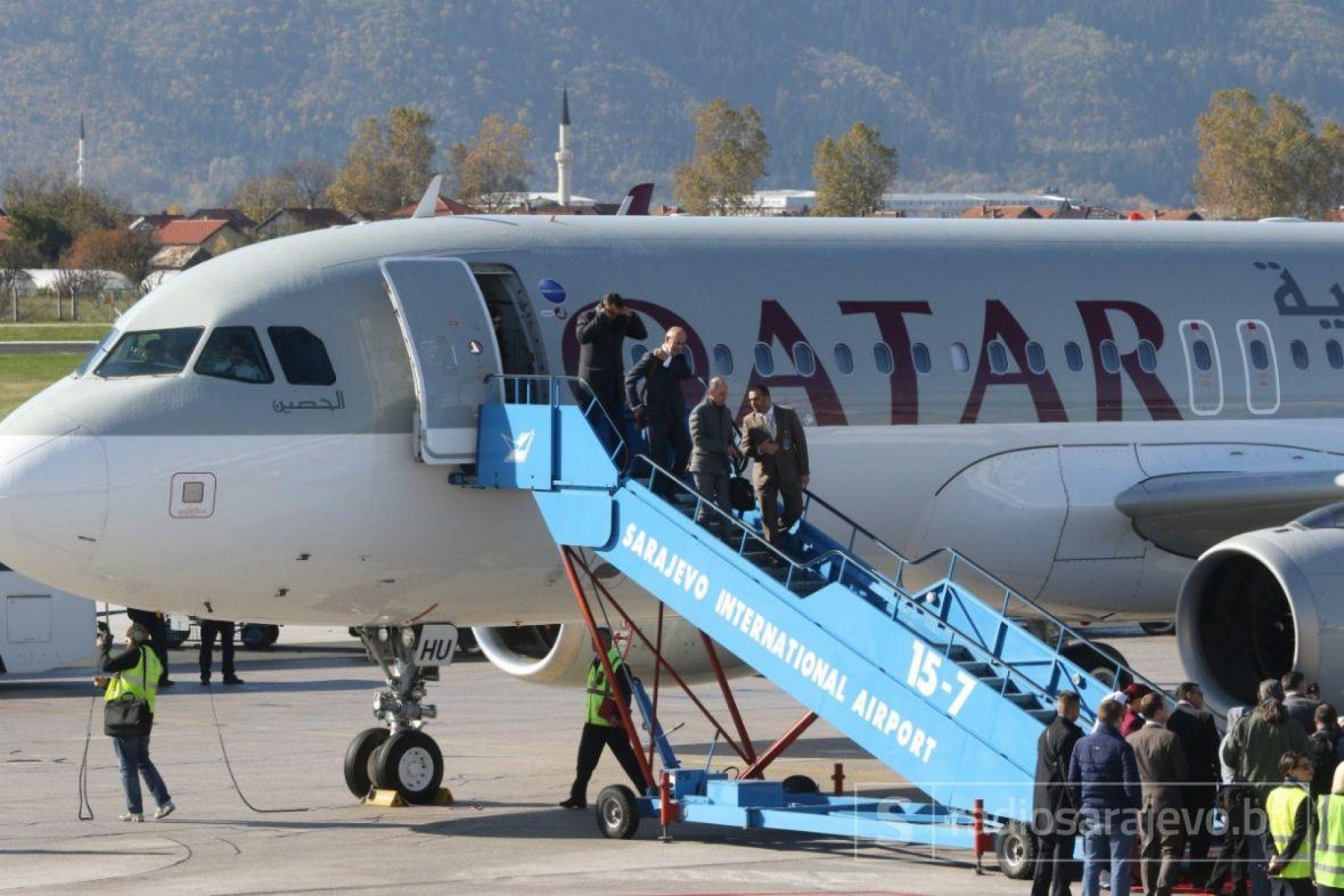 Qatar Airways uspostavio avio-liniju: Na Aerodrom Sarajevo sletio prvi avion iz Dohe