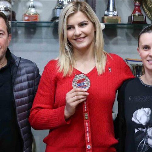 Aleksandra Samardžić: Svjetsko srebro u judou rezultat karijere