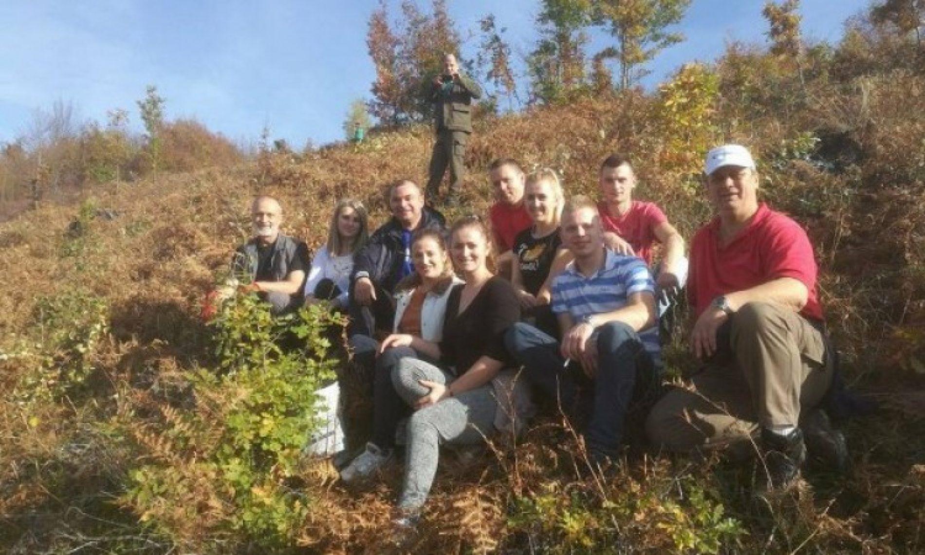 Radnici kompanije MS&WOOD i fojnički srednjoškolci zasadili 5.500 sadnica