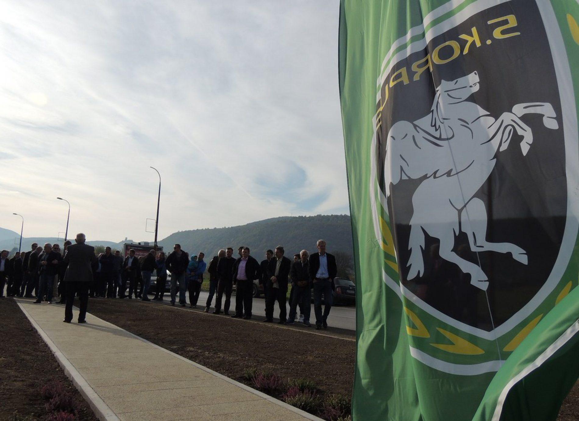 Obilježavanje 25. godišnjice od osnivanja: Zastava 5. Korpusa ARBiH podignuta na ulazu u Bihać