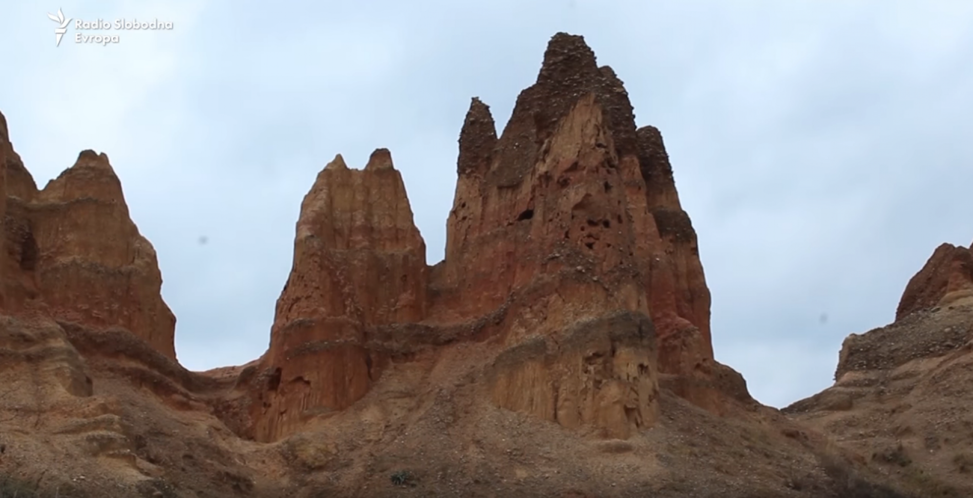 Foča: Pješčane piramide (Video)