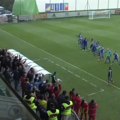 Mladi reprezentativci Bosne i Hercegovine nadigrali Portugal (Video)