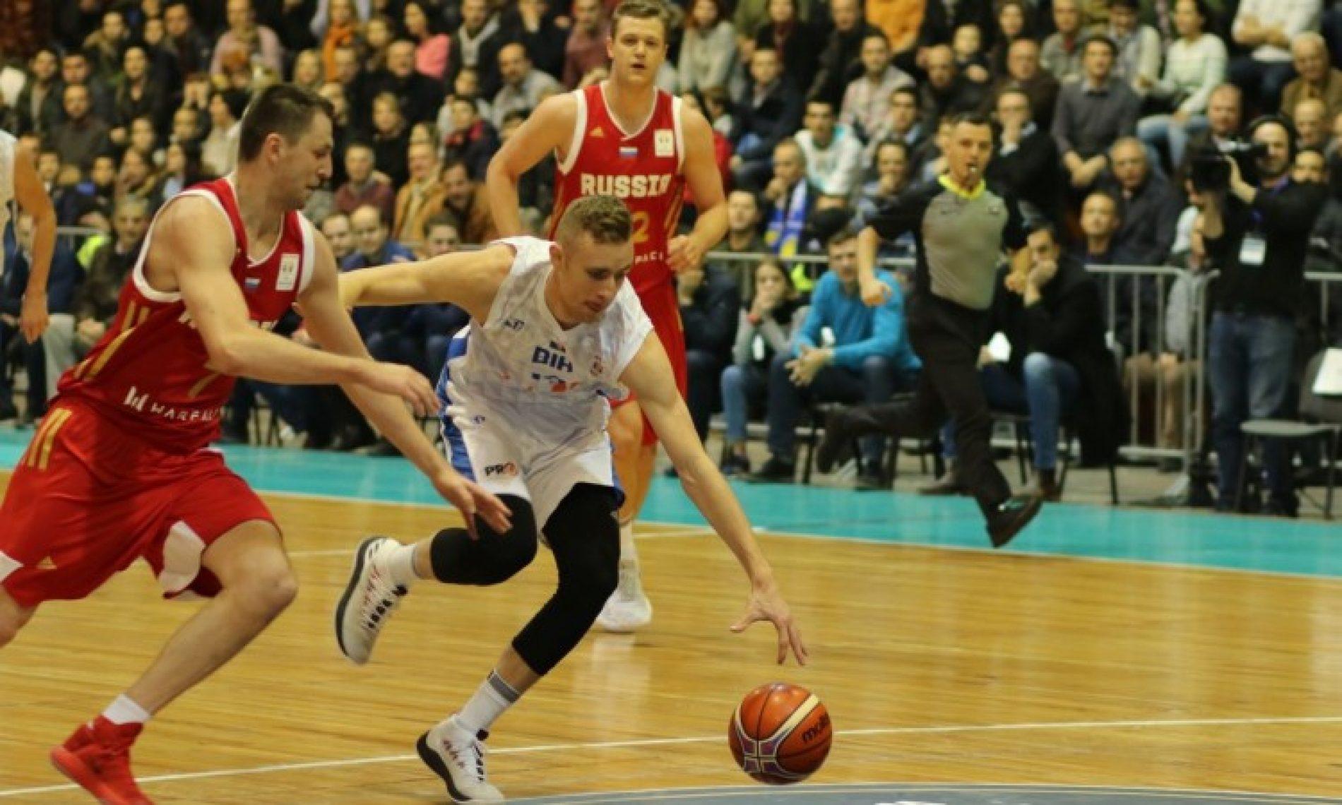 Rusija pala u Skenderiji – Pobjeda bosanskih košarkaša u kvalifikacijama za SP
