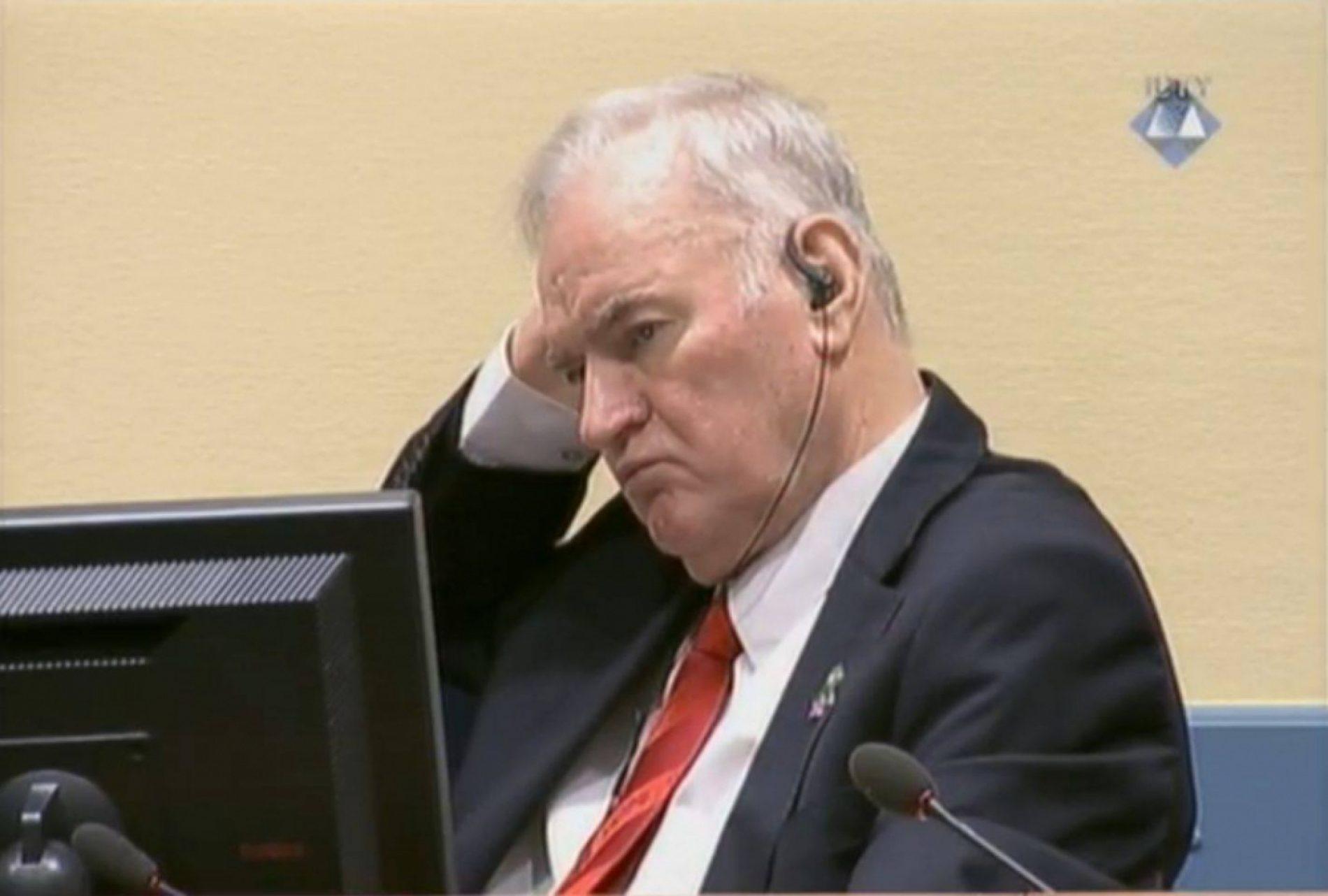 Srpski general Mladić osuđen na doživotnu kaznu zatvora!