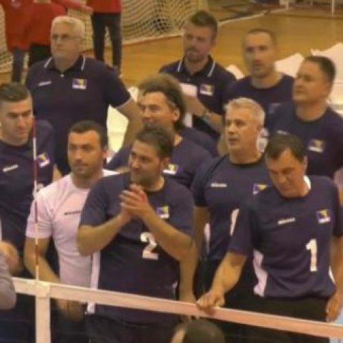 Reprezentacija Bosne i Hercegovine u sjedećoj odbojci osvojila bronzu na EP-u