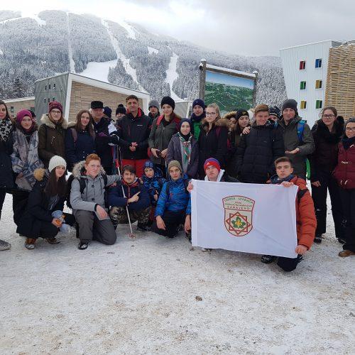 Učenici sarajevskih osnovnih i srednjih škola osvojili vrhove olimpijskih planina Bjelašnice, Igmana, Jahorine i Trebevića