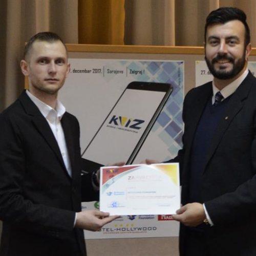 """Predstavljena aplikacija """"Kviz BiH"""""""