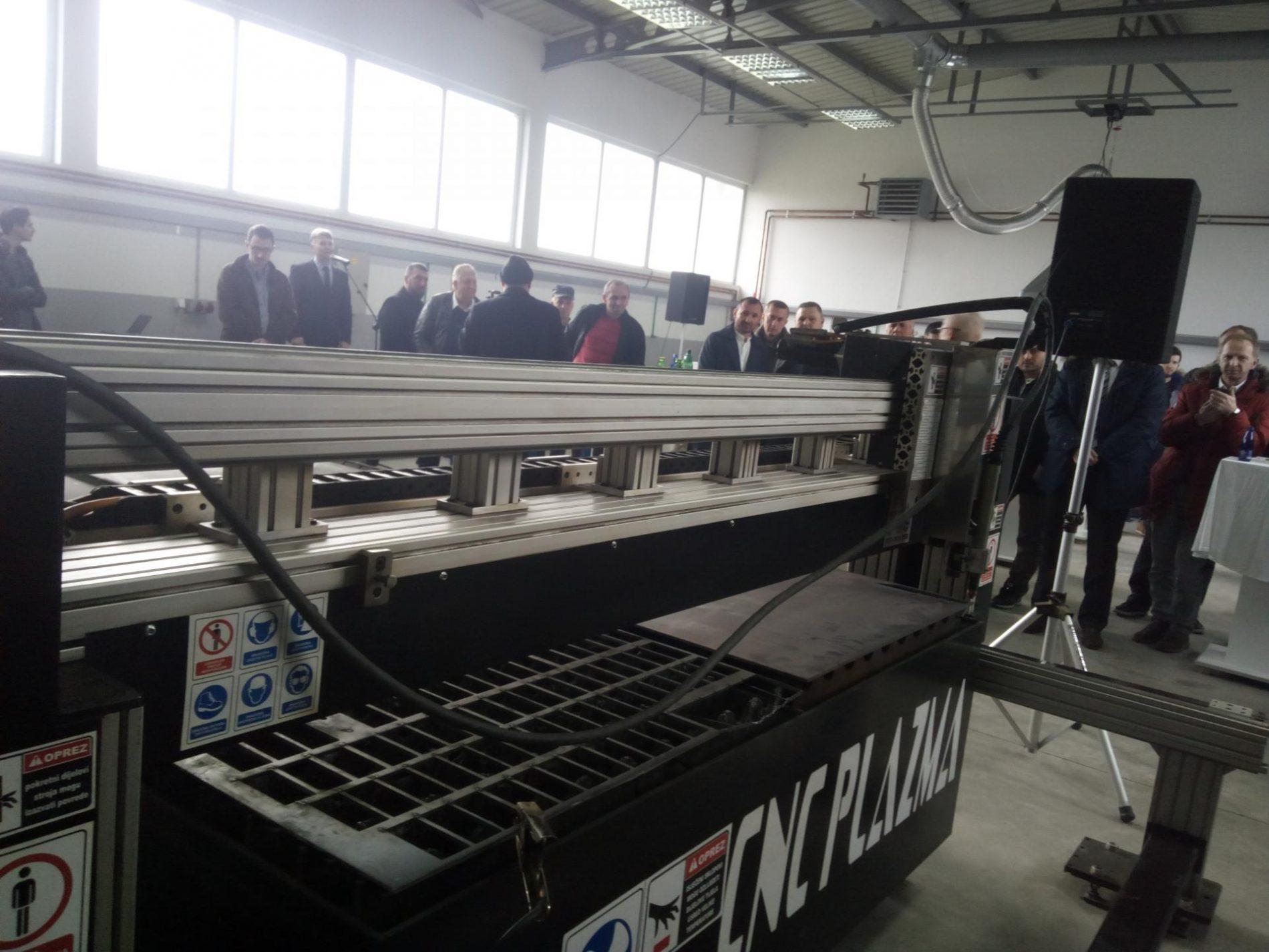 U Jelahu otvorena još jedna metalska firma: Bosanska CNC rezačica u rangu sa poznatim svjetskim CNC mašinama