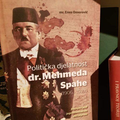 """Sutra promocija knjige """"Politička djelatnost dr. Mehmeda Spahe"""""""