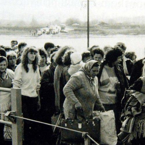 Prijem izbjeglica iz Bosne i Hercegovine – Hrvatskoj je sve bilo plaćeno