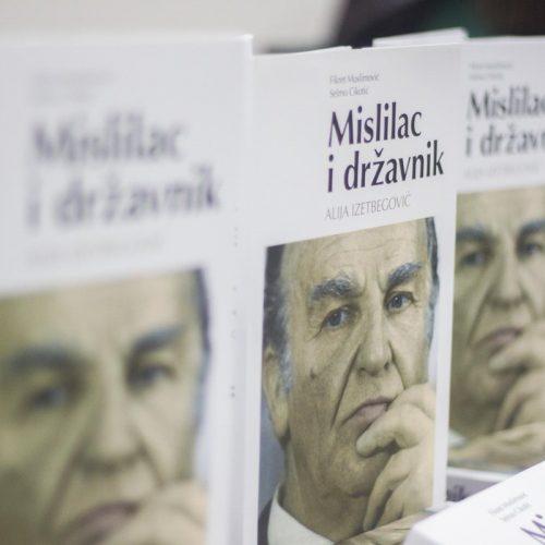 "U Zenici promovisana knjiga ""Mislilac i državnik Alija Izetbegović"""