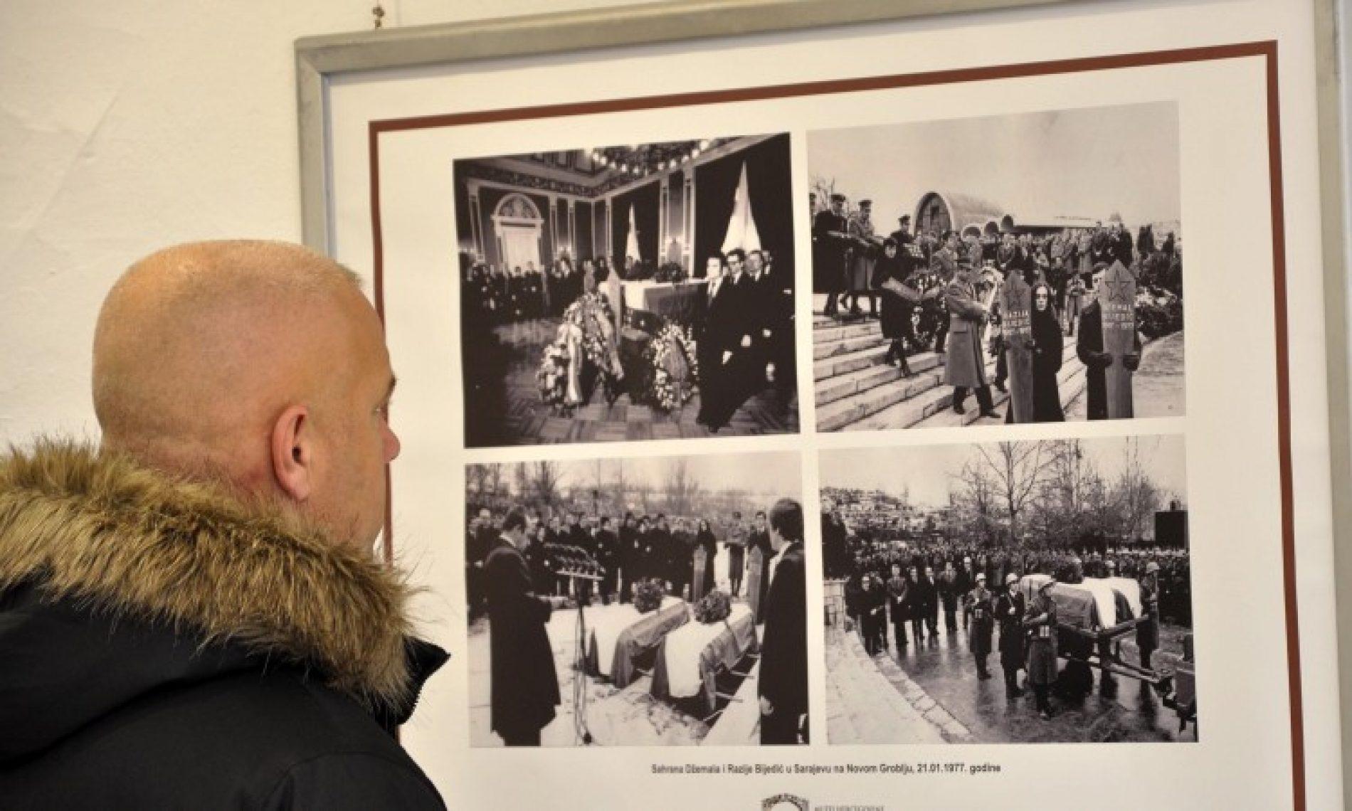 Otvorena izložba 'Džemal Bijedić, posljednji oproštaj, januar '77'