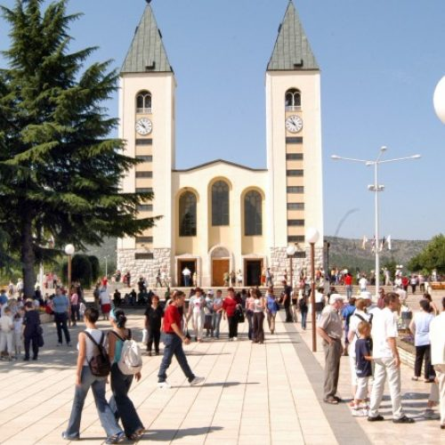 Uz Sarajevo, jedna od najposjećenijih turističkih destinacija u državi – Međugorje u prošloj godini posjetilo milion turista