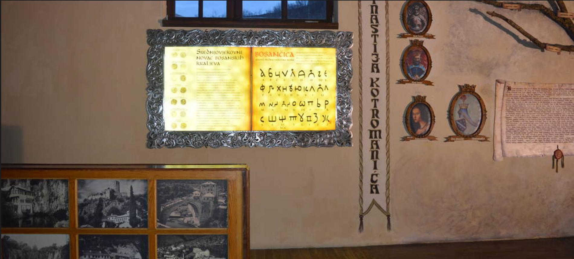 Mali muzej Bosne i Hercegovine: Bosanski kraljevi, bosančica i Ahdnama pored Miljacke