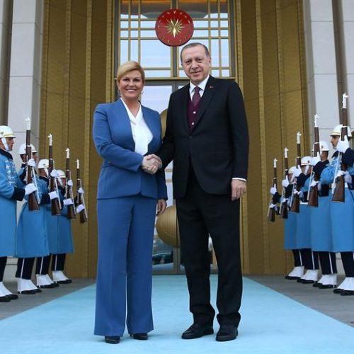 """""""Kitarović je dobila javnu odbijenicu od Erdogana"""""""