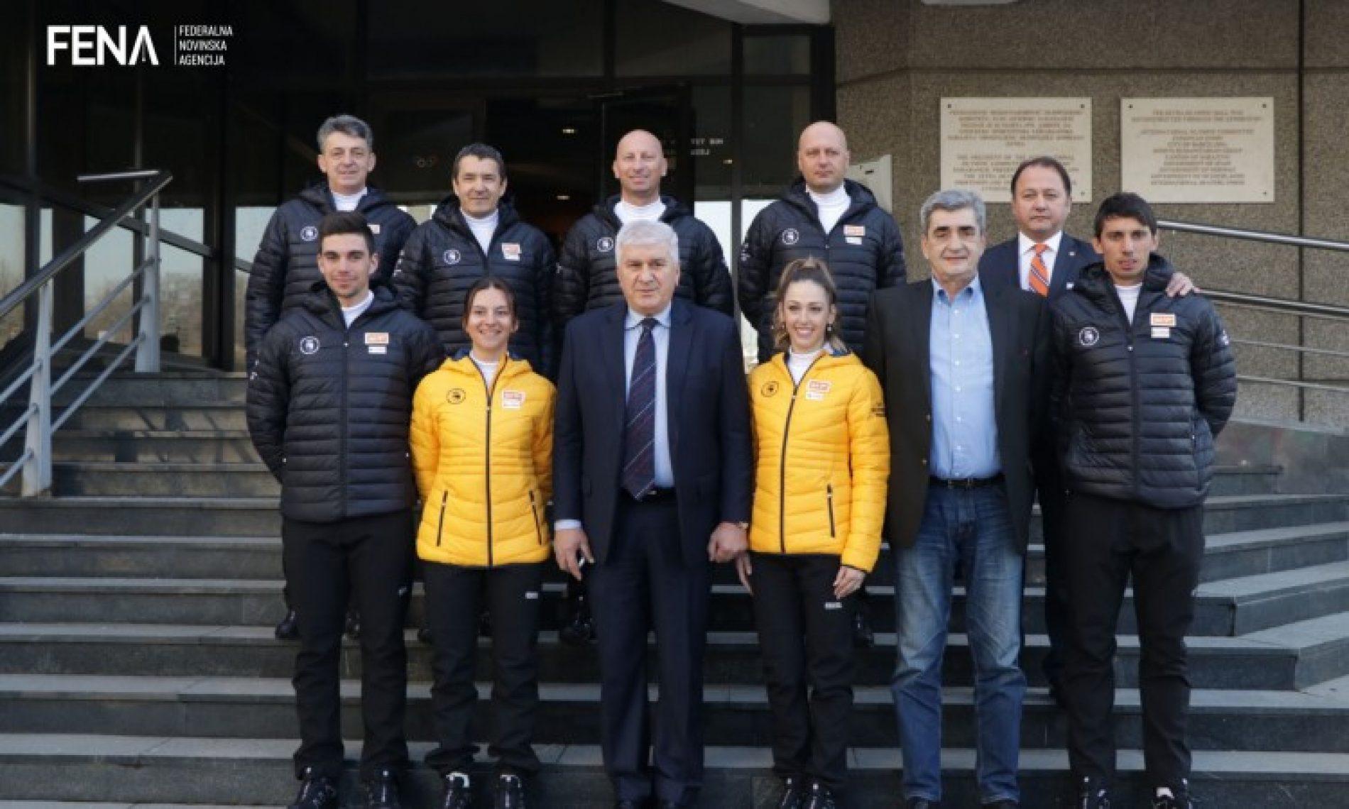 Predstavljen olimpijski tim Bosne i Hercegovine (VIDEO)