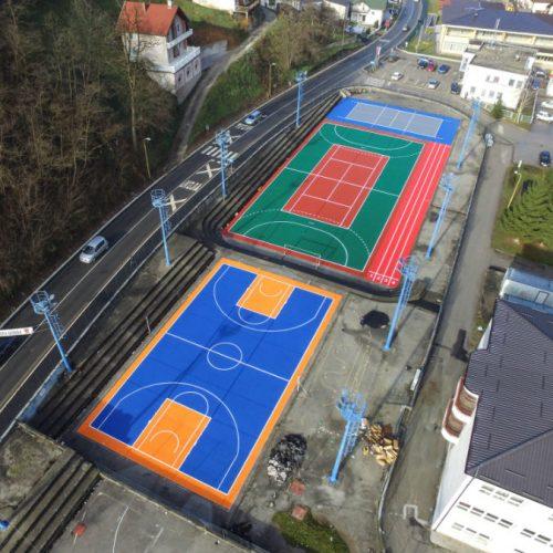 Obnovu pomaže i Asmir Begović: Novi sjaj sportskih terena u Srebrenici