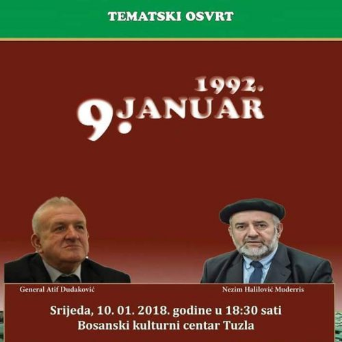 Tematski osvrt – 09. januar 1992. godine