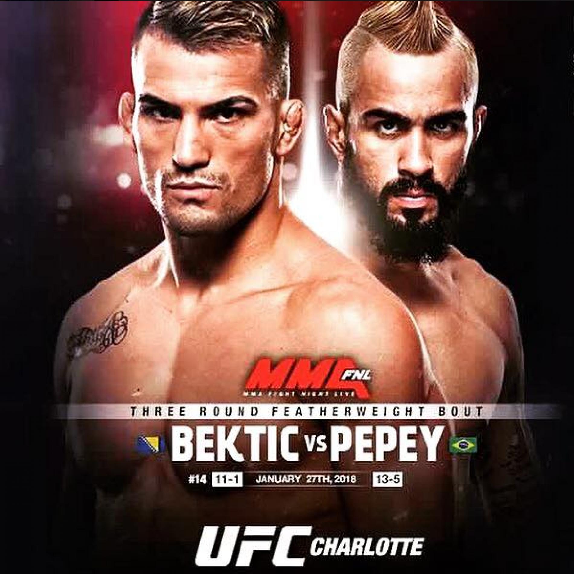 UFC: Pobjeda Bektića u prvoj rundi  (VIDEO)