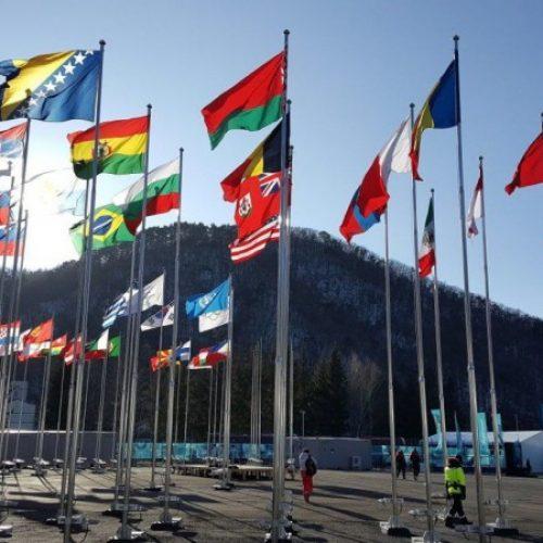 Podignuta zastava Bosne i Hercegovine u Olimpijskom selu u Pyeongchangu