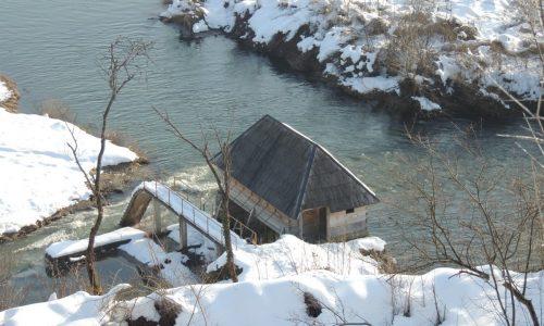 Drveni mlin u Tržačkim Raštelama jedinstven u Bosni i Hercegovini