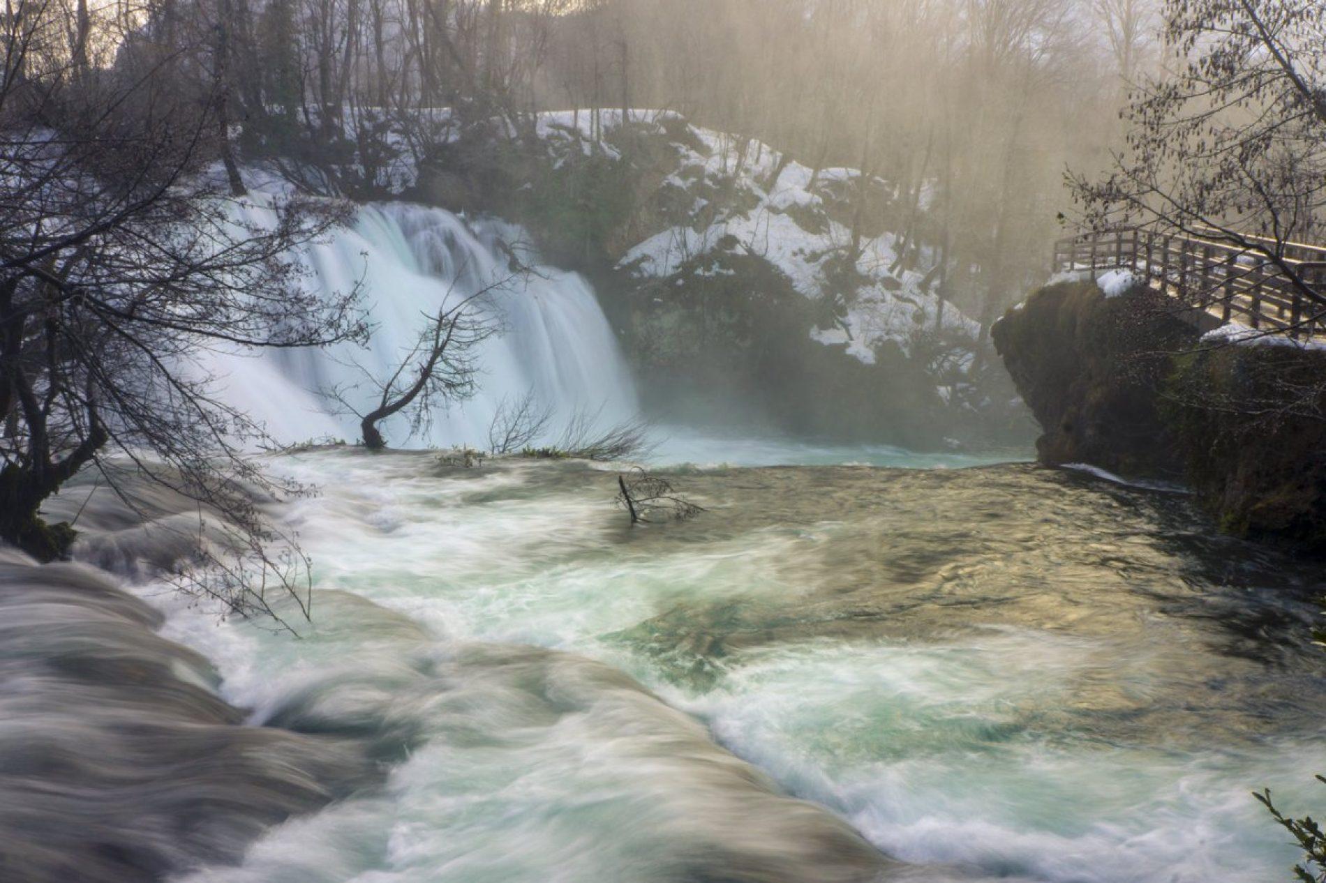 Ljepote Bosne u zimskom periodu: Martin Brod u snježnom ruhu oduševljava posjetioce