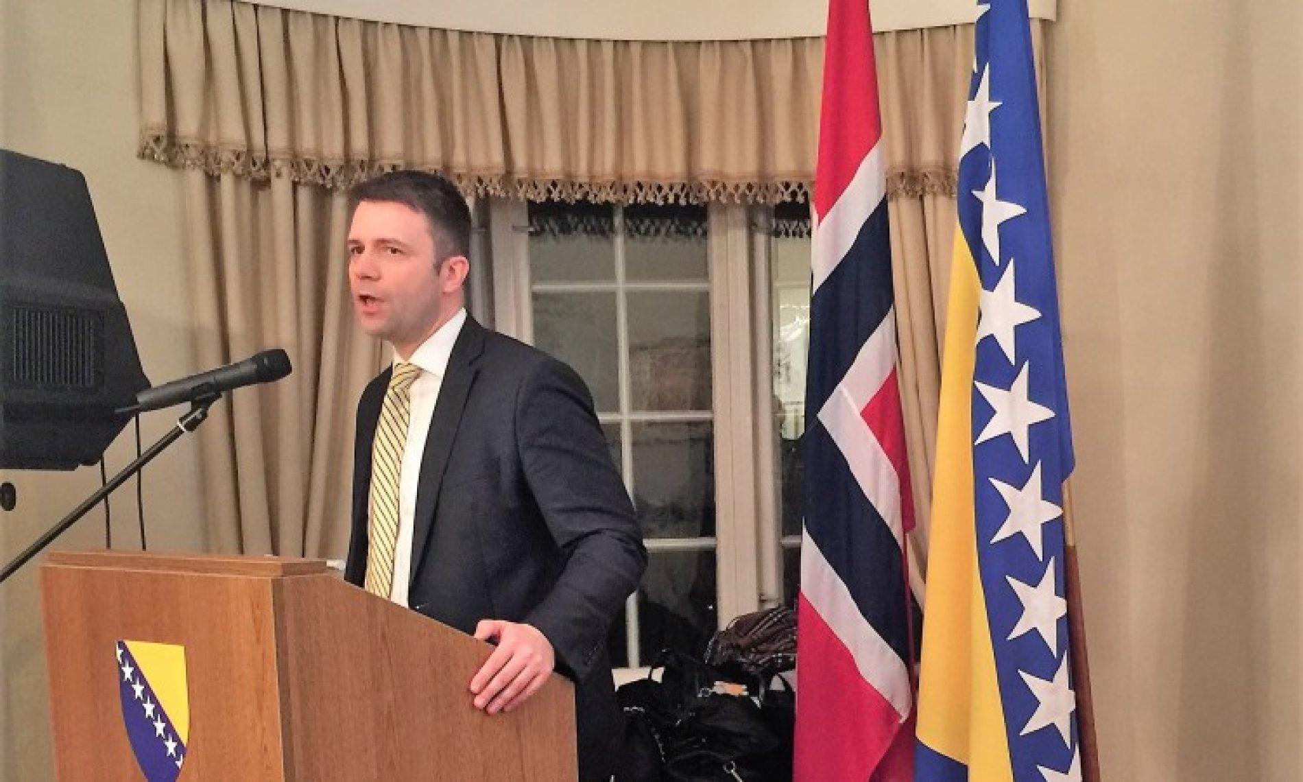 Dan nezavisnosti Bosne i Hercegovine svečano obilježen u Norveškoj