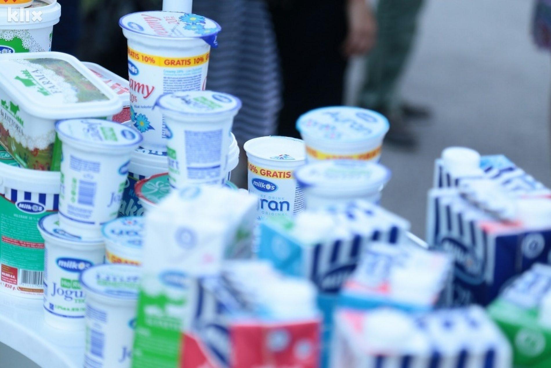 Izvoz mlijeka iz Bosne i Hercegovine povećan za 12 posto