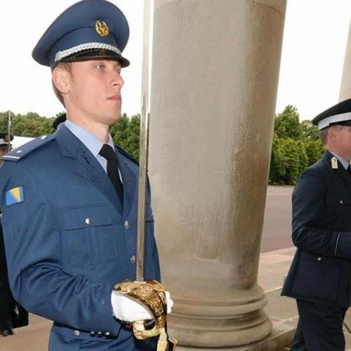 Faris Sitnić, oficir OSBiH koji je pohađao najstariju vojnu akademiju: 'Bila mi je čast predstavljati svoju zemlju'