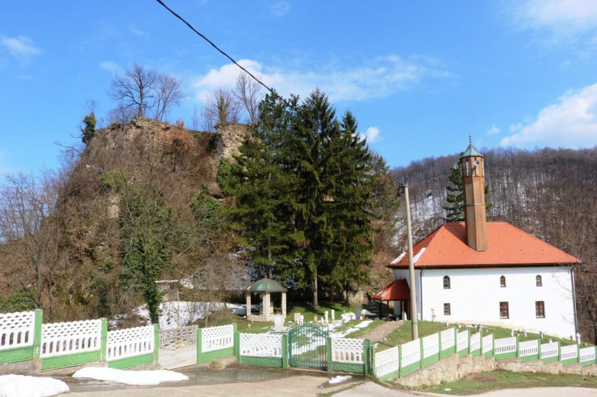 Stari grad Teočak (FOTO)