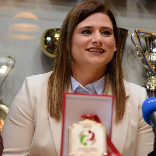 Larisa Cerić prva na svjetskoj rang listi džudašica preko 78 kilograma!