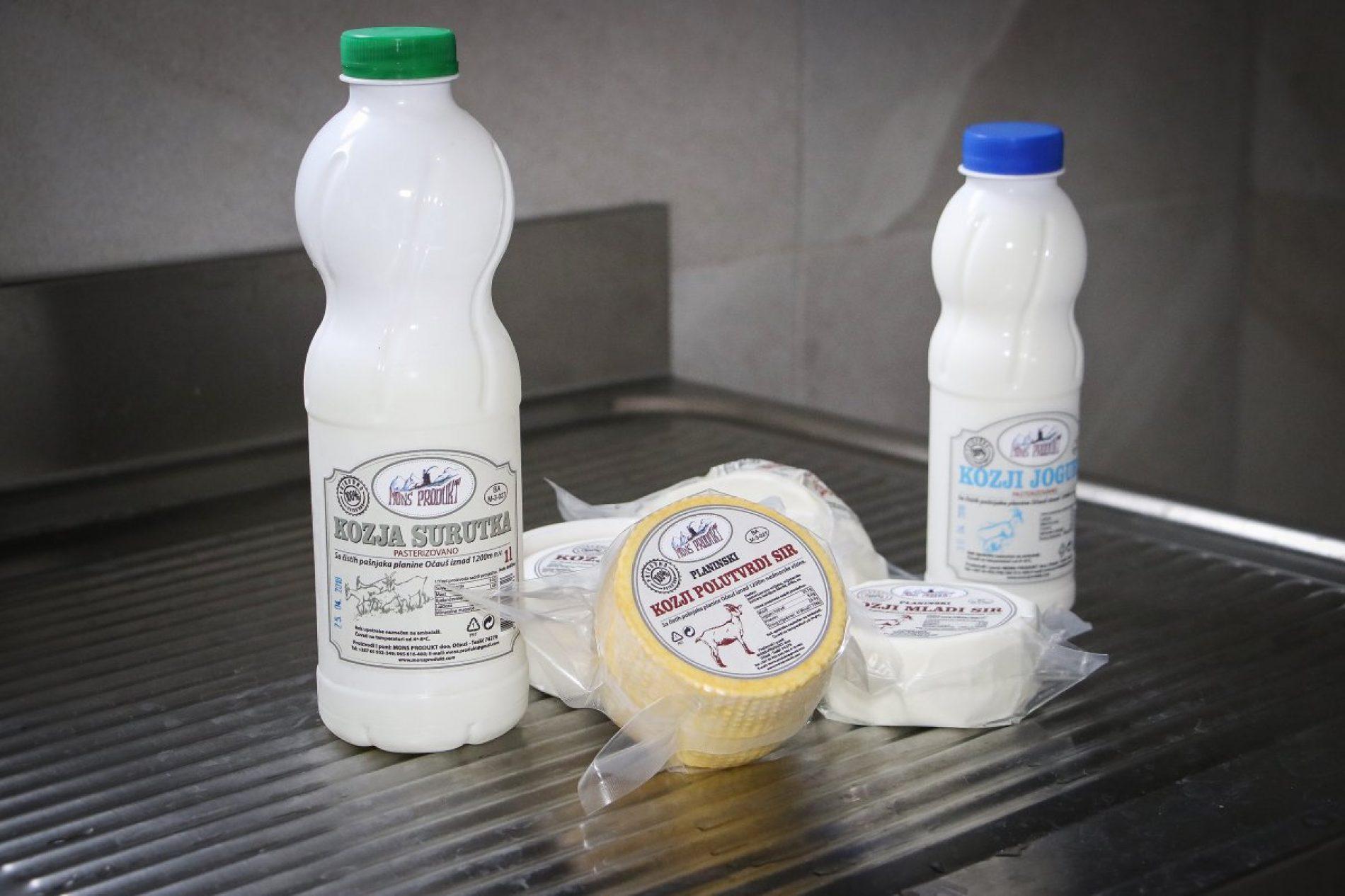 Vratio se iz Italije i pokrenuo mljekaru za preradu kozjeg mlijeka