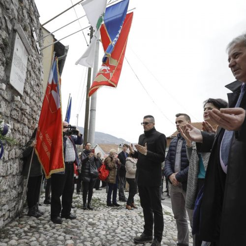 Na Višegradskoj kapiji obilježena 73. godišnjica oslobođenja Sarajeva od fašizma