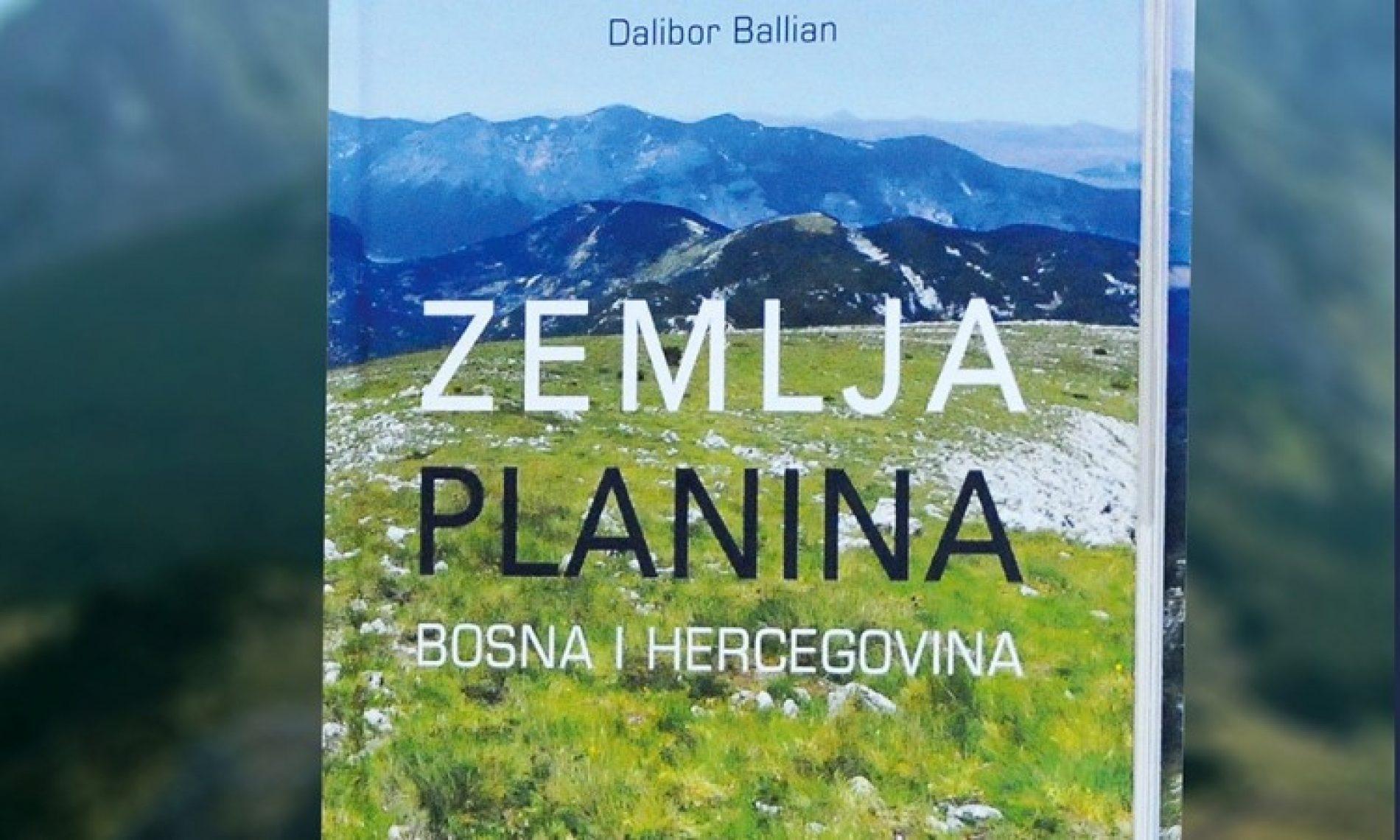Promovisana knjiga 'Zemlja planina Bosna i Hercegovina'