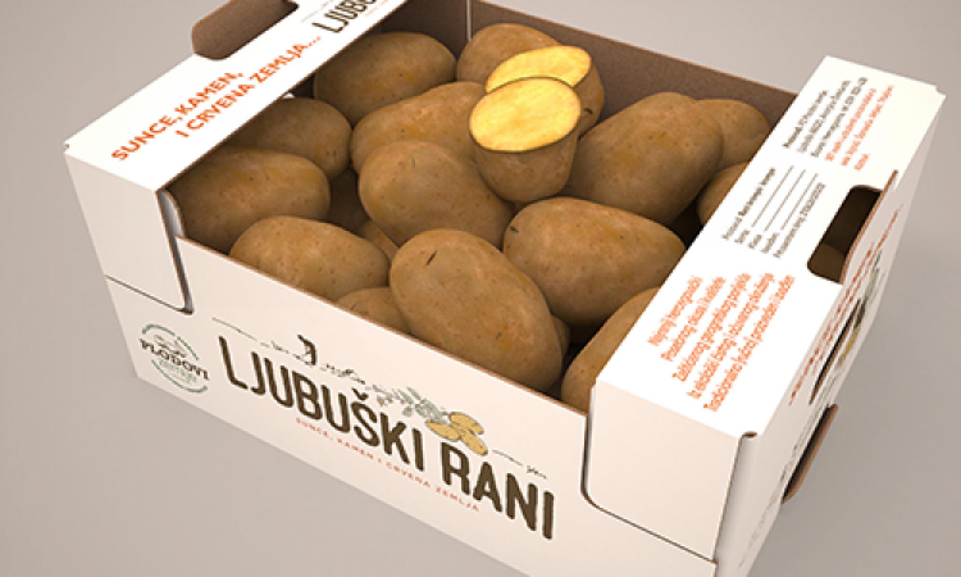 Mladi krompir iz Ljubuškog uskoro na tržištu zemalja EU-a i Rusije