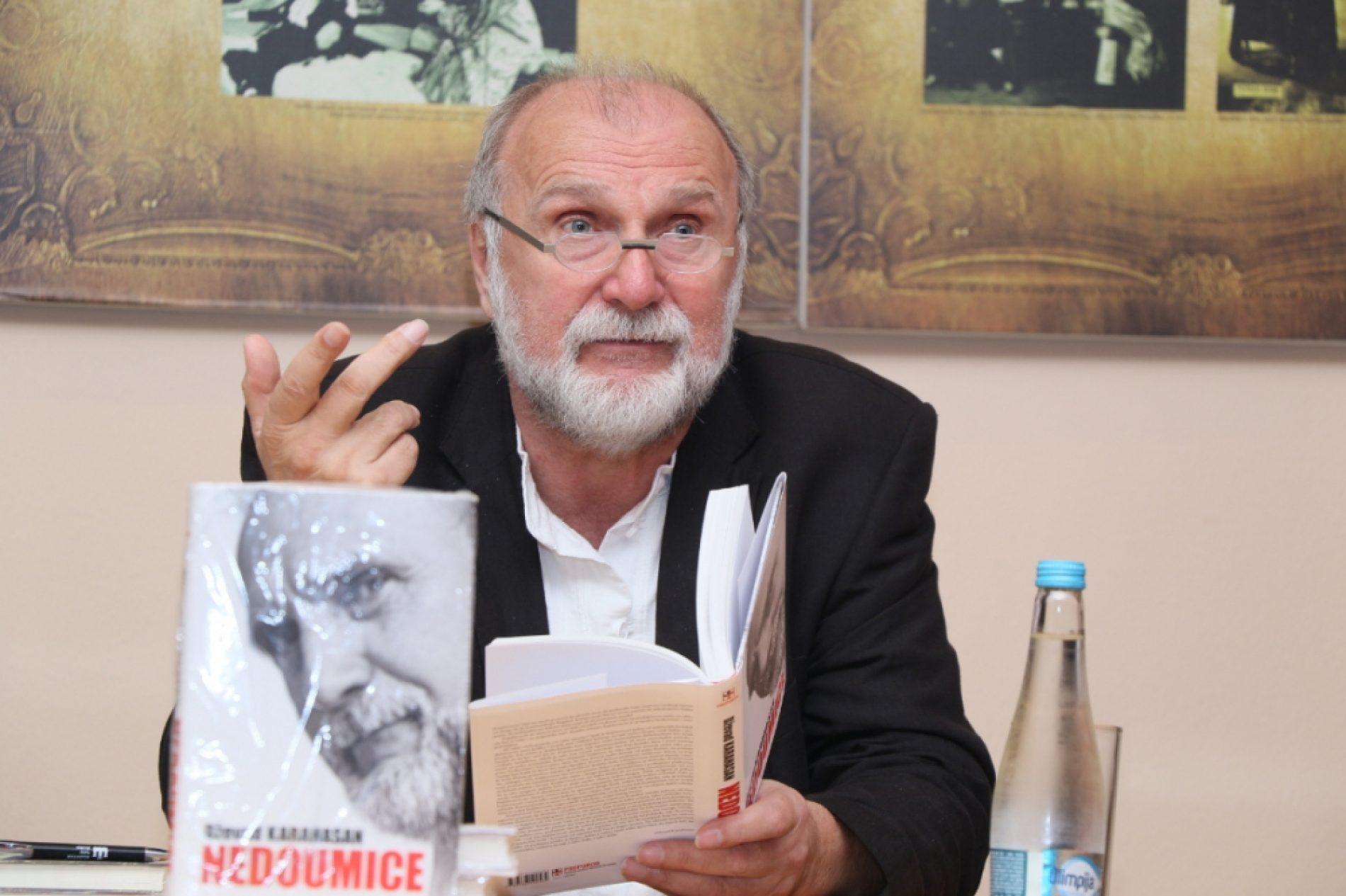 """Predstavljena knjiga eseja """"Nedoumice"""" Dževada Karahasana"""